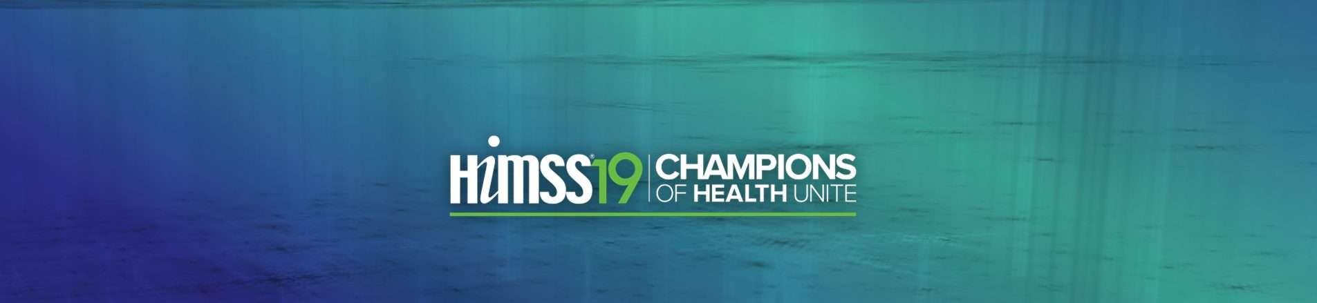 Meet us at HIMSS19!